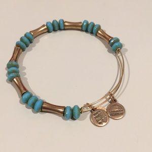 Alex and Ani beaded bracelet